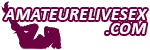 www.amateurelivesex.com Logo